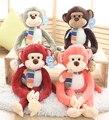 Супер мило 1 шт. 70 см мультфильм сказочный длинная рука ноги обезьяна фестиваль плюшевые куклы творческий мягкая игрушка детям день святого валентина подарок