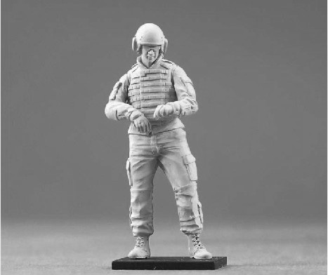 Resin Kits 1/35 Modern American Armored Force standing Unpainted Kit Resin Model Free Shipping