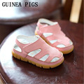 GUINEA PIGS Brand Boy Girl Sandals High Quality Leather Breathable Summer Children Soft Leather Baby Shoes For Boys Girls Sandal