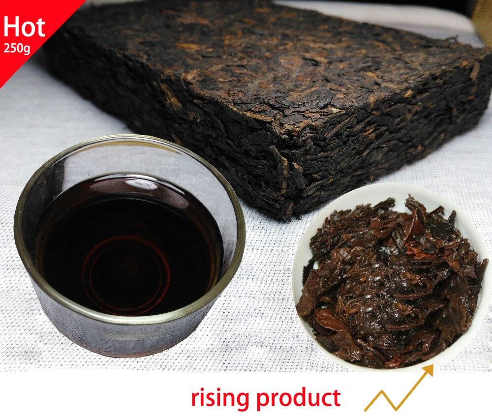 250g Old puer Puerh  Tea,ansestor antique tree,honey sweet, Pu'er Pu er health care  weight lose pu erh decompress pu'er brick