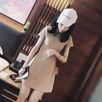 Mishow 2019 Женское платье с коротким рукавом MX17B1217