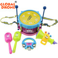 Music Early Learning Educational Toy Music Early Learning For Newborn Baby Hand Drum Beat Rattles Gift For Infant