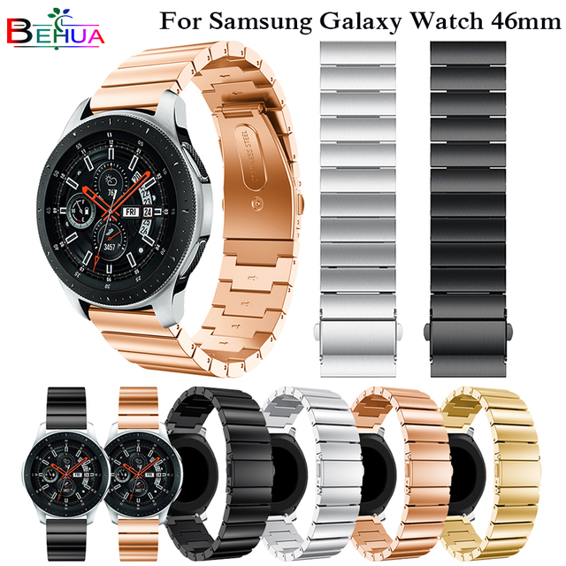 Watchbands 22mm Strap Band For Samsung Gear S3 Classic Frontier Galaxy 46mm Repl