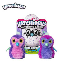 Hatchimals Eggs Interactive Shimmering Draggle Toy Hatcher Magic Egg Hatching Smart Electronic Puzzle Pet Child Toy