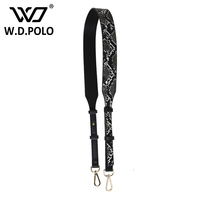 WDPOLO New Python Leather Design Women Handbags Strap Chic Adjust Lady Bags Parts Fashion Handle For