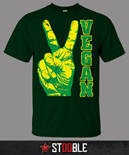 Peace Vegan T-Shirt - Direct from Stockist New T Shirts Funny Tops Tee Unisex Fashion Summer Paried Tshirts