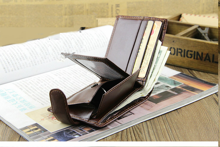 HTB1sHtxXK6sK1RjSsrbq6xbDXXaM - Baellerry Leather Vintage Men Wallets Coin Pocket Hasp Small Wallet Men Purse Card Holder Male Clutch Money Bag Carteira W066