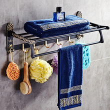 Bathroom Punch Free Metal Shelf Towel Bar Hardware Set Toilet Paper Holder Soap Holder Toothbrush Holder Toilet Brush Holder bathroom hardware accessories chrome single towel bar rail toilet paper holder shower soap dish pump brush holder glass shelf