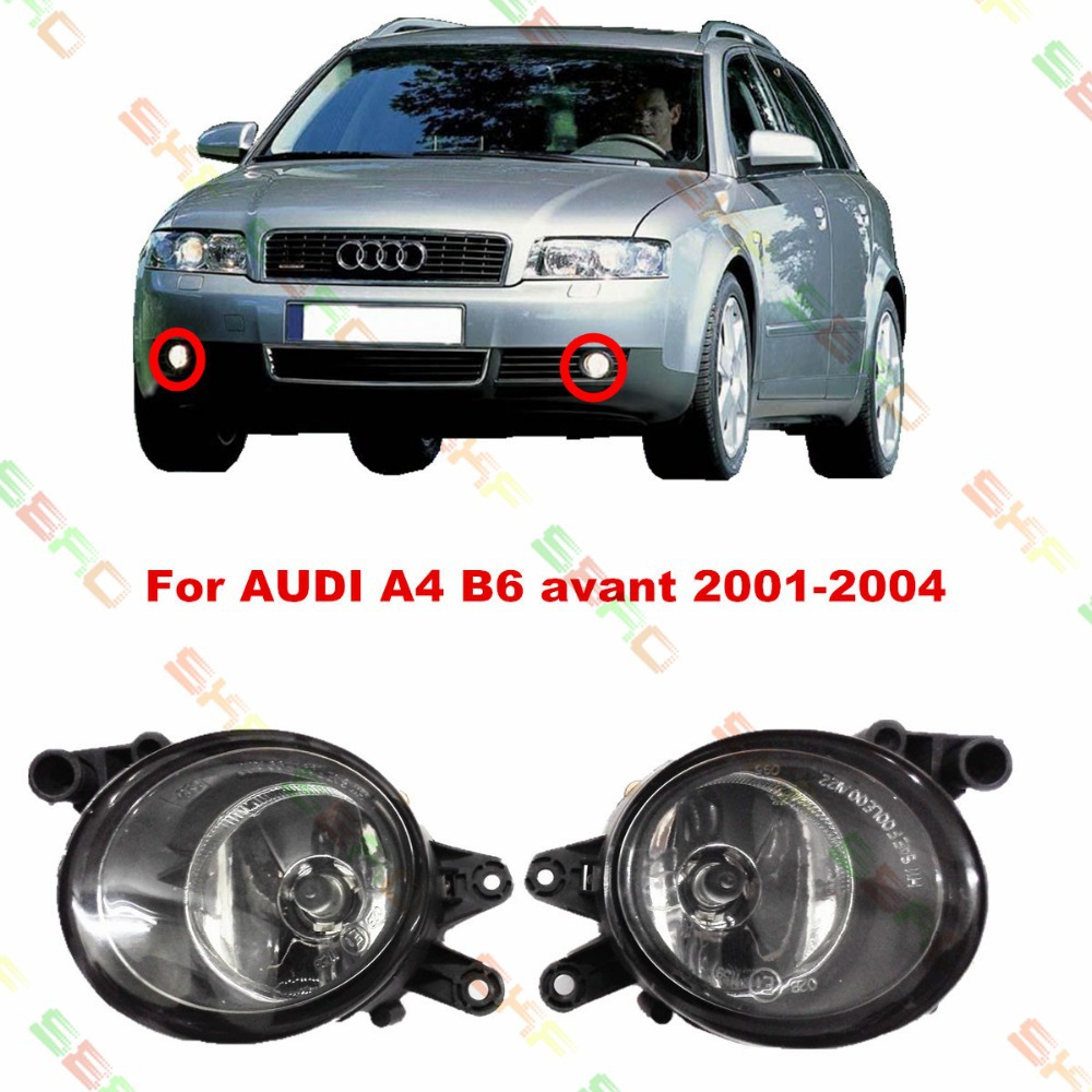 For AUDI A4 B6  avant  2001/02/03/04  car styling fog lights   1 SET FOG LAMPS