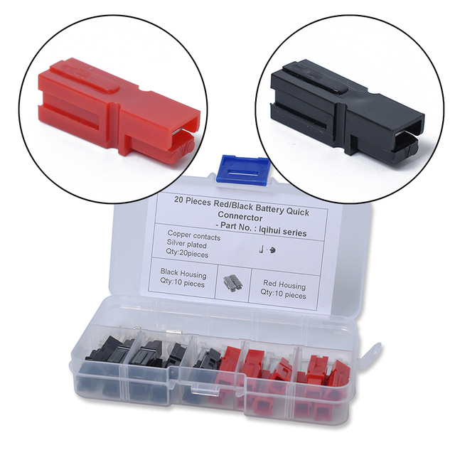 30A/45A 600V Marine Power Kit Plug 10 Pairs Electric Connector Golf Car Special Automobile accessories