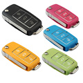 Key Shell Modifite Set Waterproof And Color - Seat For SKODA 3 Buttons With Logo