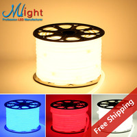 FREE SHIPPING 1m Mlight Flexible 5050 LED Strip Light Red Waterproof Hot Selling 110 220
