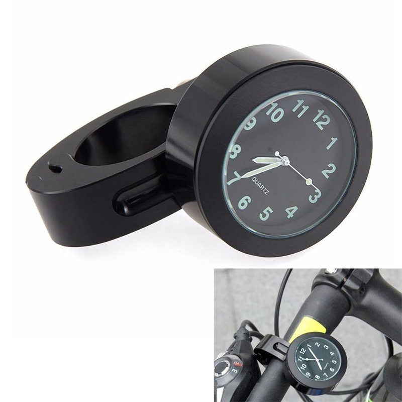 New Portable Bike Motorcycle Handlebar Waterproof Mini Mount Dial Watch Clock YS-BUY