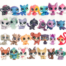 лучшая цена FGHGF LPS Animal Pet Shop Collection Figure Collie Dog Cat Squirrel Rare Loose Cute Kid Toys Figure Gift Y19062501