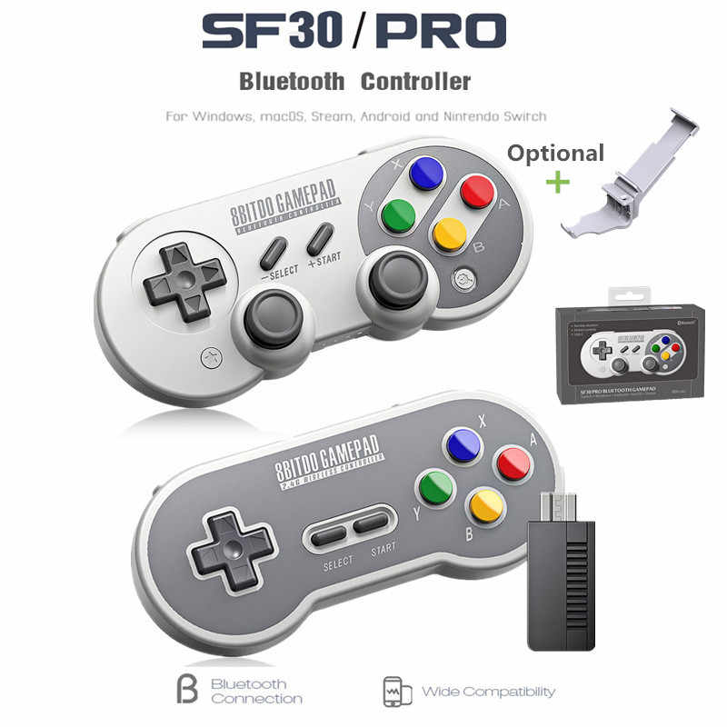 Detail Feedback Questions about 8Bitdo SF30 Pro Gamepad