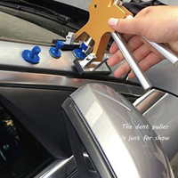 PDR Puller Tabs 33 Pcs Glue Car Body Dents Remover Tool Auto Paintless Dent Repair Tools