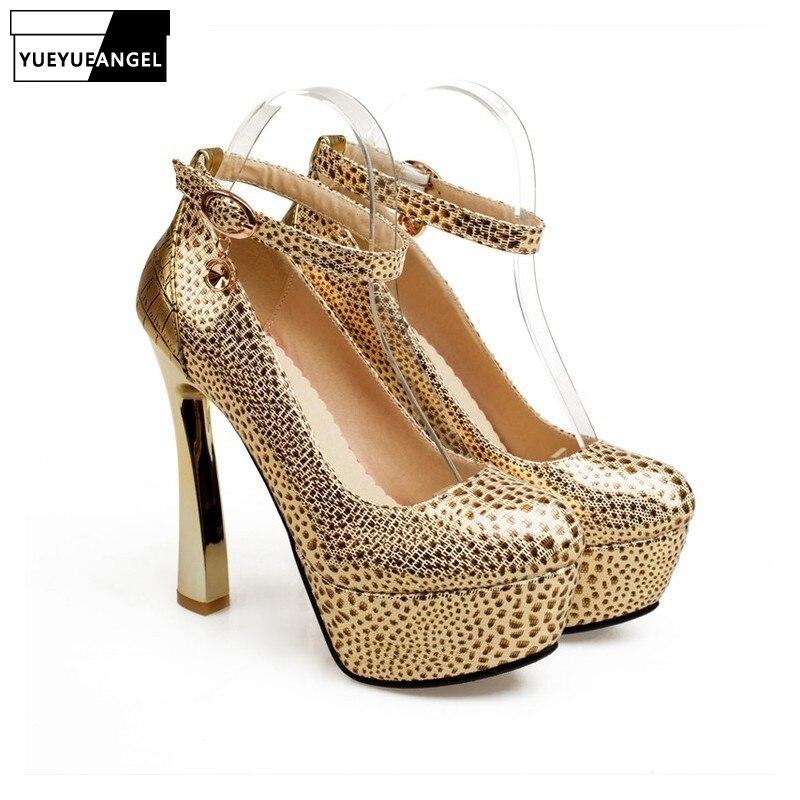 Dedo Hebilla Del Pu Zapatos Nueva Venta Bombas La Leopardo Silver De golden Las Mujeres Alto Llegada Pie Puntiagudo Vestido Boda Tacón Para Caliente Moda Cuero Fiesta qfZO7rq