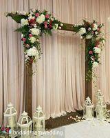 Высочайшее качество белых роз с зеленая трава свадебный цветок стены искусственный шелк цветок фон цветок арки Свадебные украшения