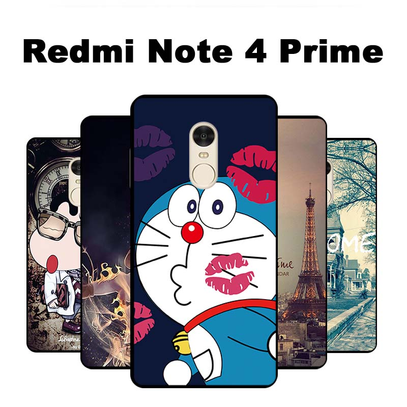 xiomi xiaomi redmi note 4 prime case cover tpu black soft