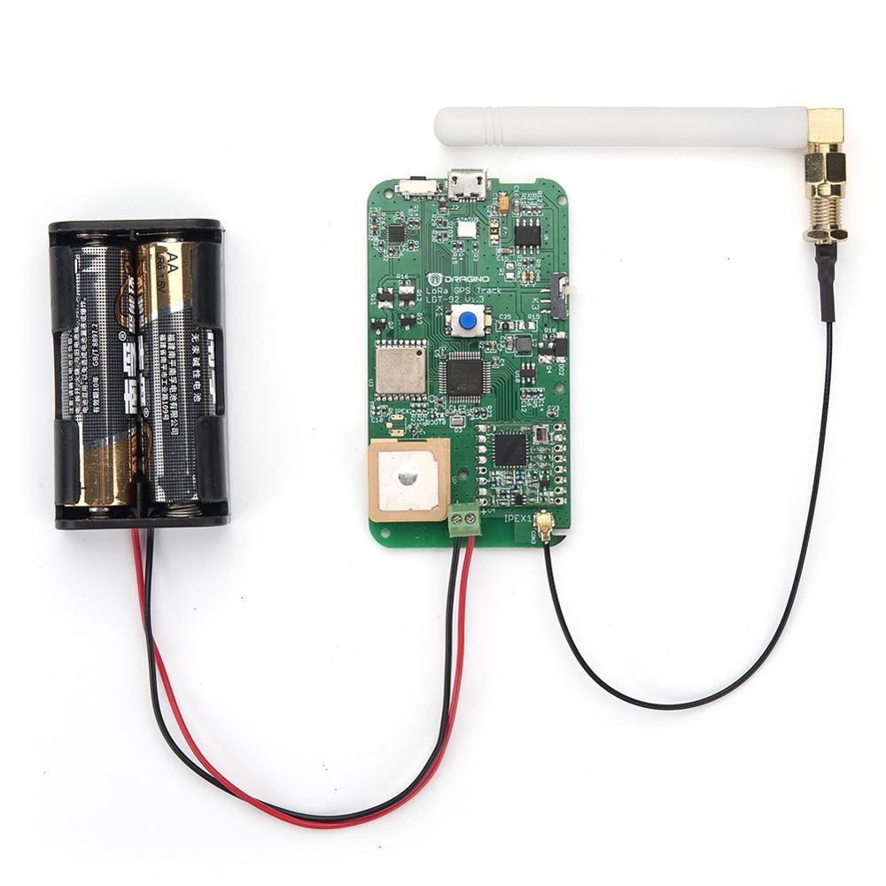 Pour Dragino LGT92-LoRaWAN suivi de suivi GPS avec accéléromètre 9 axes IOT basé sur STM32L072 MCU et SX1276/1278 Module LoRa - 5