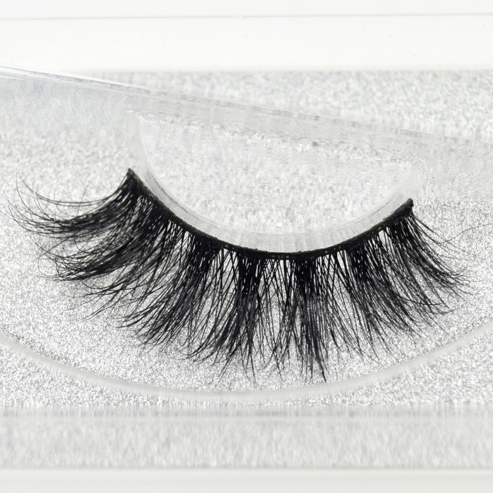 Visofree Eyelashes 3D Mink Eyelashes Long Lasting Mink Lashes Natural Dramatic Volume Eyelashes Extension False Eyelashes D05