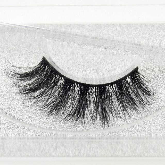 Visofree eyelashes 3D mink eyelashes long lasting mink lashes natural dramatic volume eyelashes extension false eyelashes D05