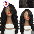 Top Quality 4*4 Silk Top Full Lace Wig Human Hair Lace Front Wig Water Wave 180 Density Peruvian Virgin Hair For Black Women