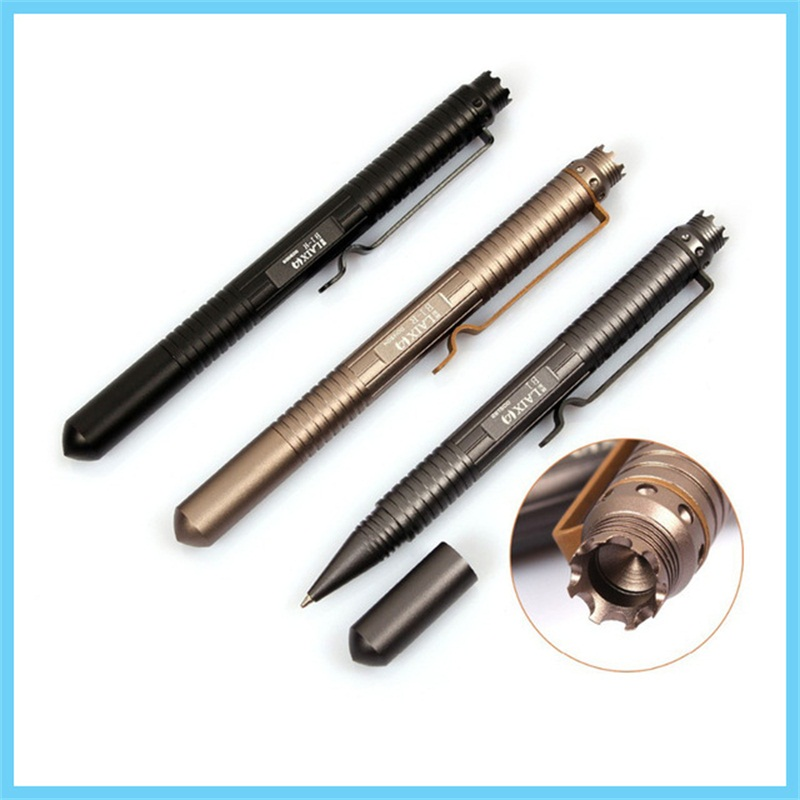 Portable Tactical Pen Self Defense Tool Aviation Aluminum Anti-skid personal safety survival outdoor tool B1 self guard pen self defense supplies tactical pen self defense tool security protection personal defense tool aviation aluminum anti skid b2
