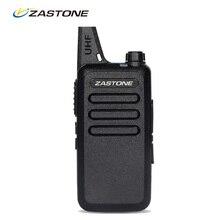 Zastone ZT-X6 мини Портативная рация UHF 400-470 мГц частота Портативный Портативная рация S двухстороннее Радио UHF Ручной Хэм Радио S