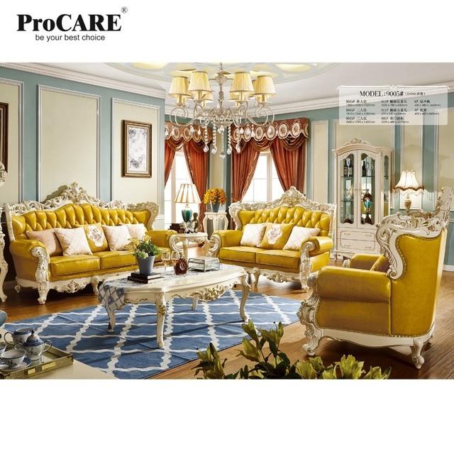Luxe Européen et Américain style salon meubles qualité Italia canapé ...