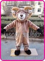 mascot bighorn ram goat costume custom cartoon character cosplay fancy dress mascotte theme