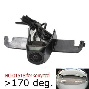 Appr.180deg HD car front view logo camera for subaru outback forester XV front grille camera wide angle ccd night vision(China)