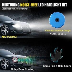 Image 4 - BraveWay ampoule LED pour véhicules automobiles, pour phares automobiles H4 H8 H9 H11 HB3 HB4 lampe à LED 9005 H7 H7 Canbus H11, 9006