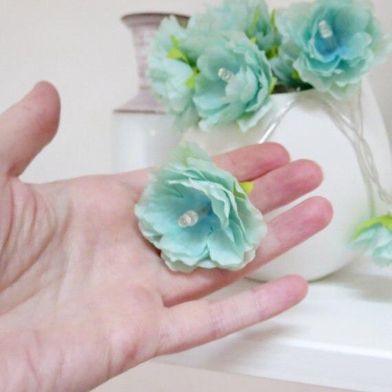 1.5 m 10 LED fleurs fleurs guirlandes guirlandes avec batterie AA - Éclairage festif - Photo 3