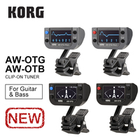Korg AWOTG AWOTB AWOTG POLY AWOTB POLY Polyphonic Clip on Guitar Tuner Bass Tuner 0.1 cents Tuner For Guitar, Bass