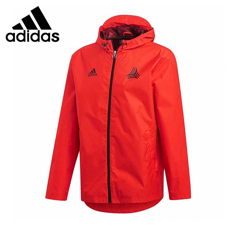 Original New Arrival 2019 Adidas TAN WINDBREAKER Men's Jacket Hooded Sportswear