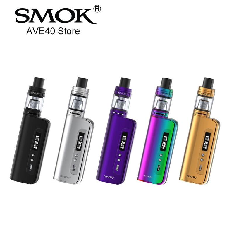 100% Original Electronic Cigarettes SMOK OSUB Baby 80W Stater Kit Box Mod TFV8 Baby Tank Vaporizer VS istick pico E Cigarettes цены онлайн