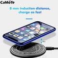 Беспроводное зарядное устройство Magic Circle  универсальная беспроводная Быстрая зарядка для iPhone X XS XR 7 8  Samsung S8wireless