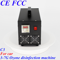 Pinuslongaeva C3 for car dc12v 3.5g 7g/h Portable stainless steel shell ozone machine car ozonator for cars ozonizer
