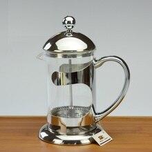 Französisch presse teekanne hochtemperaturbeständige glas teekanne druck topf kaffeekanne edelstahl filter methode