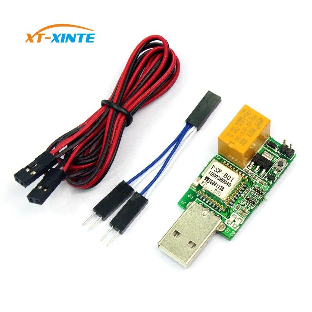 USB Chien De Garde WIFI APP Télécommande pour Windows/Linux 24 H Sans Surveillance Redémarrage Automatique Bleu Écran Accident pour Mineur BTC Serveur