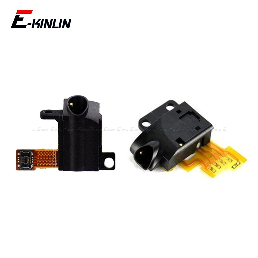 Earpiece Headphones Earphone Jack Port Socket Audio Connector Port Flex Cable For IPod Touch 2 3 4