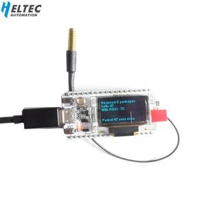 Image 1 - 433 MHZ ESP32 LoRa SX1278 esp32 led 0.96 Pulgadas OLED Azul pantalla Bluetooth WIFI Lora Kit 32 433 MHZ Placa de Desarrollo para Arduino