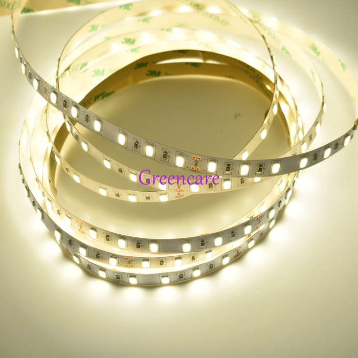 50-55lm/LED Epistar SMD 5630 LED Flexible strip Light DC12V 24V 18W/M 60leds/M white /warm white/ nature white Free Shipping 10M