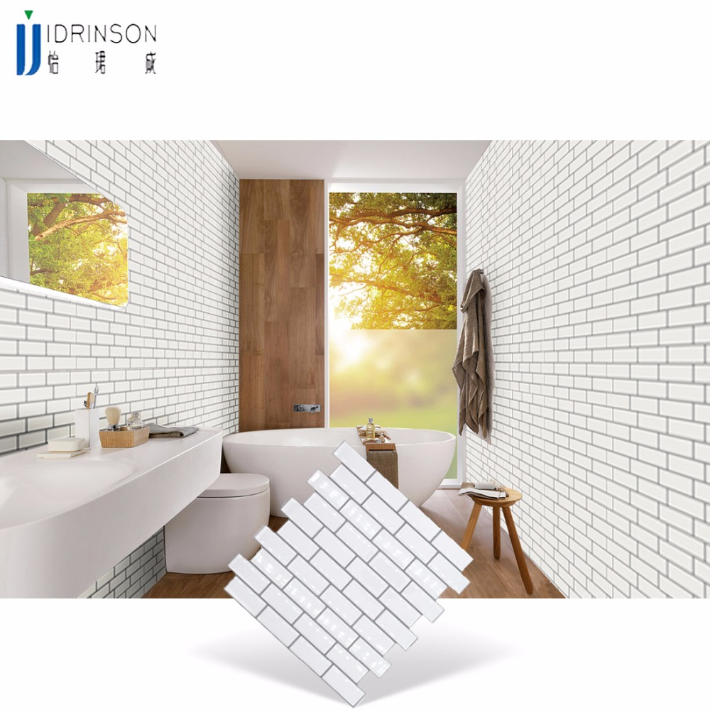 Stickers For Wall Bathroom Home Decor Bathroom Wall Art Stickers Tile Design Living Room Stickers 10inch