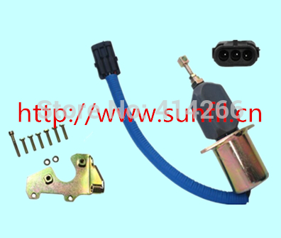 Wholesale SA-4026-12 Fuel Shutdown Solenoid Valve for 5.9L DIESEL12V,3PCS/LOT