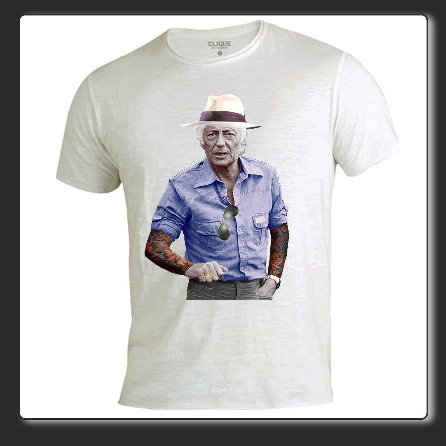 Gildan T Shirt Uomo Donna cotone fiammato Gianni Agnelli jeans tattoo 1