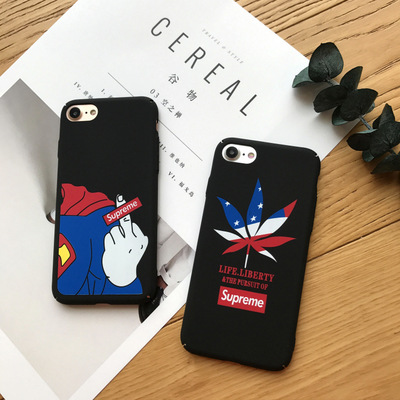 Cute Cartoon Supreme Matte Thin S For Iphone 6 6s Plus Phone Case Pc Hard Cover 7 7plus Anti Falling