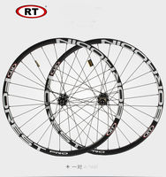 HOT sale RT 26 27.5 alloy brake carbon wheels MTB bicycle carbon wheel aluminium clincher road wheelset chinese bicycle wheels