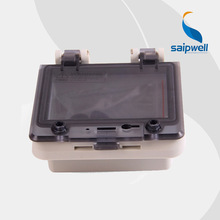 IP67 Waterproof Power Distribution Box with Transparent Protective Window Cover (PWH-0404)